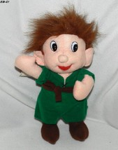 "Sugar Loaf 10"" Vintage 1991 Polyester Stuffed Elf Toy - $10.99"