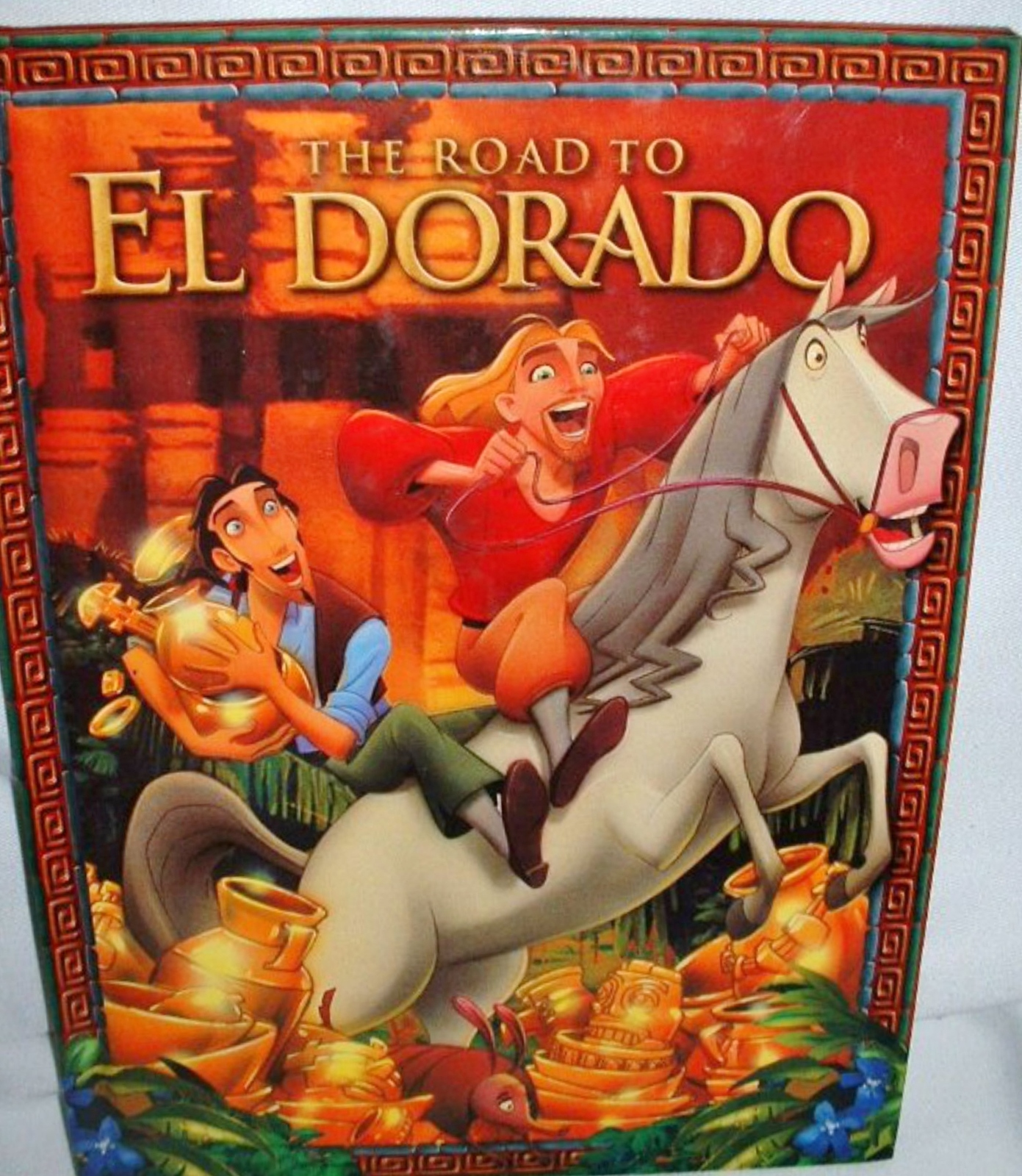 The Road To El Dorado Dream Works Childrens Fiction Book Ages 4 to 8 2000