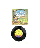 """Disneyland Record & Book: Mickey Mouse, Brave Little Tailor  1968-P 7"""" 3... - $20.00"""
