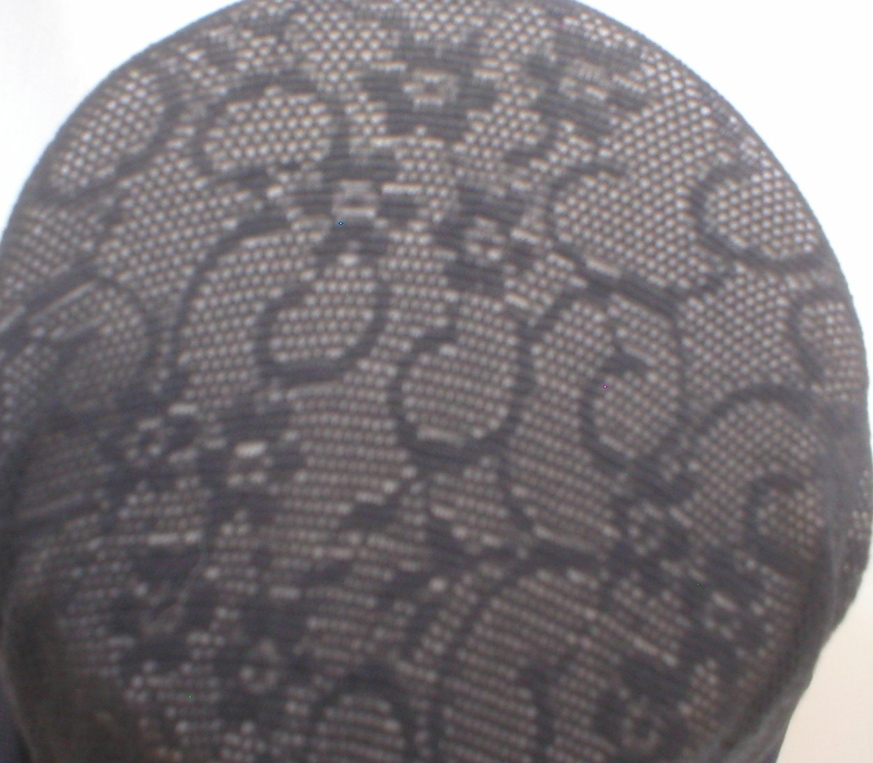Calvin Klein Black Print  Contol Top Pantyhose 9531 Size D