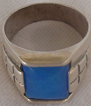 Primary image for  A light blue man ring