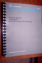 Mercedes Service Manual Engine 3.8 5.0 new factory reprint workshop repair - $89.09