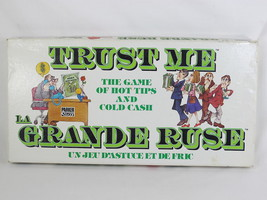 Trust Me 1981 Board Game Parker Brothers 100% Complete Bilingual Excellent - $19.16