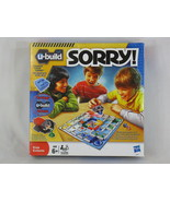 U-Build Sorry! Game 2010 Hasbro 100% Complete Near Mint Condition Bilingual - $12.87