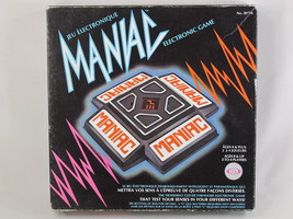 Maniac 1979 Electronic Game Ideal Toys RARE Tested Excellent Vintage - $14.85