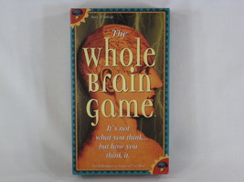 The Whole Brain Game 1990 Creative Mind Games 100% Complete Near Mint - $18.81