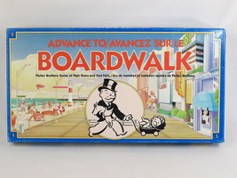 Advance to Boardwalk 1985 Board Game Parker Brothers 100% Complete Near ... - $16.58