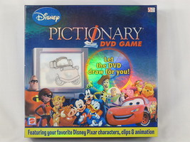 Pictionary Disney 2007 DVD Board Game Mattel 100% Complete Excellent - $10.71
