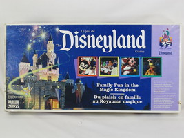 The Disneyland Game 1990 Parker Brothers 100% Complete Excellent Bilingual - $37.62