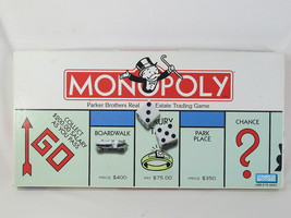 Monopoly 1996 Board Game Parker Brothers 100% Complete Excellent Condition - $19.80