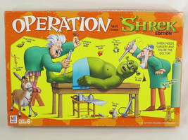 Operation Skill Game Shrek Edition 2004 Milton Bradley Complete Excellent - $11.76