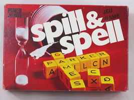 Spill And Spell 1975 Cube Crossword Dice Game Parker Brothers 100% Complete Euc - $14.85