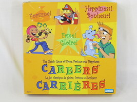 Careers Board Game 2003 Parker Brothers Complete EUC English French Spanish - $14.85