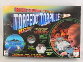 Battleship Torpedo Attack Game 2007 Hasbro Milton Bradley Bilingual Comp... - $12.75