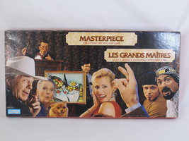 Masterpiece 1996 the Art Auction Board Game 98% Complete Bilingual Excel... - $55.55