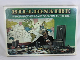 Billionaire Global Enterprise 1973 Parker Brothers Board Game 100% Complete - $28.59