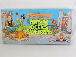 Dweebs Geeks & Weirdos 1988 Board Game Golden 100% Complete Excellent Rare - $43.44