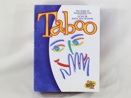 Taboo 2000 Board Game Unspeakable Fun 100% Complete Excellent Bilingual - $20.44