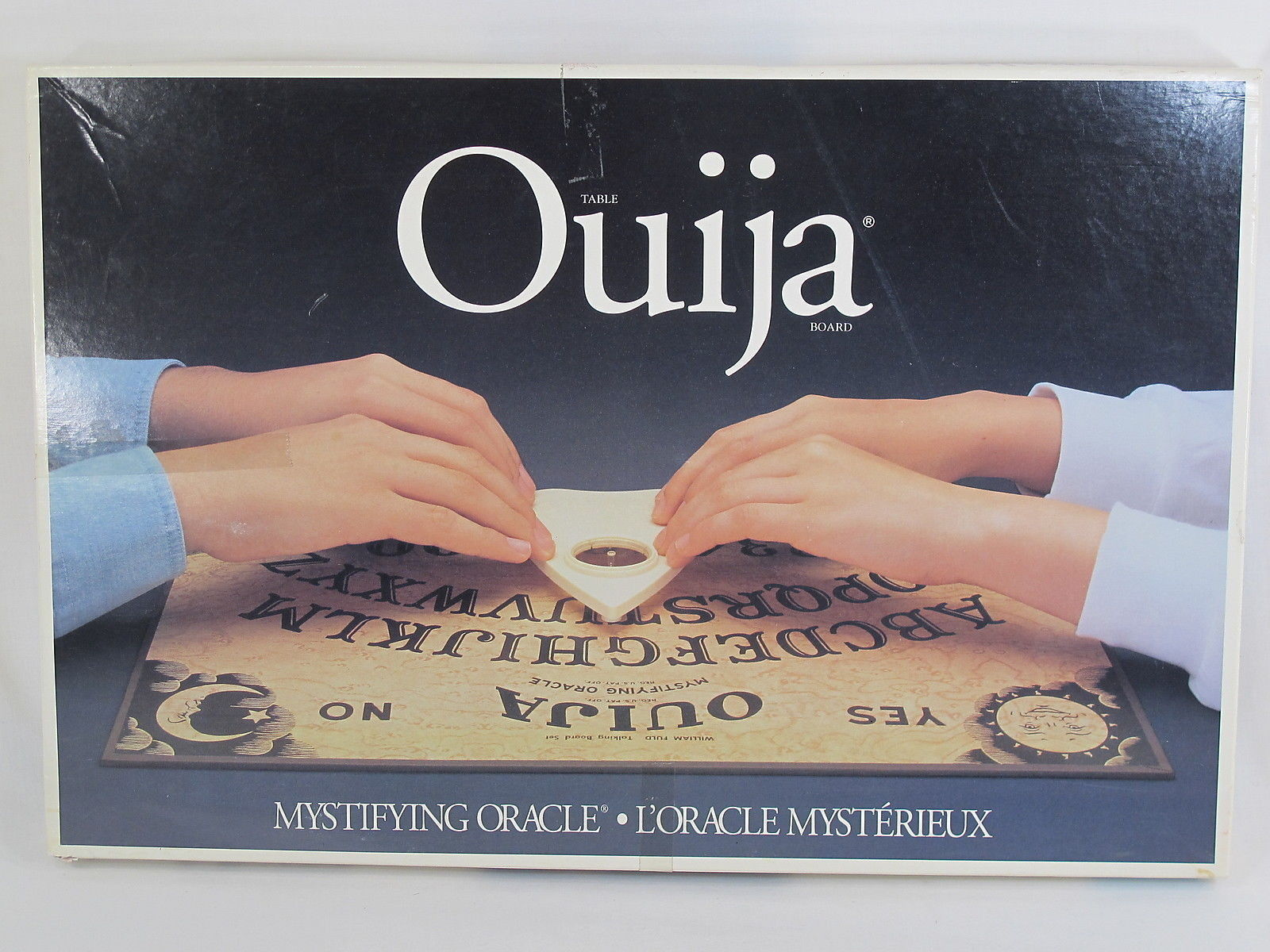 Primary image for Ouija 1992 Hardboard William Fuld Parker Brothers 100% Complete Excellent