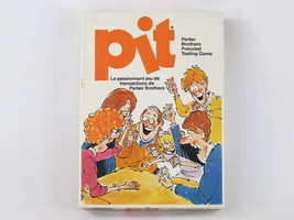 Pit 1981 Card Game Parker Brothers 100% Complete Excellent Bilingual Rare - $14.85