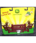 ERTL John Deere Animal Corral Set DOGS with fencing from 2003 - $8.99