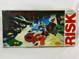 Risk Board Game 1975 Parker Brothers World Conquest 100% Complete  Bilin... - $15.84