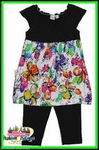 Nwt Maggie & Zoe Girls Swing Top Capri Pants Set Size 4,5,6 X,7 - $26.11