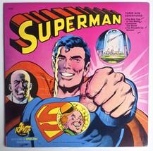 Superman LP Vinyl Record Album, Power Records -... - $20.95