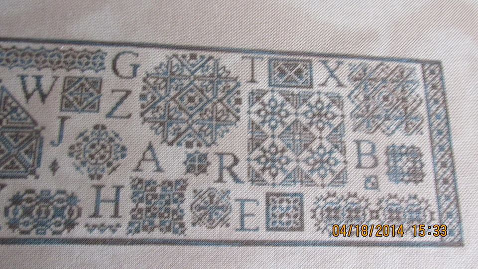 Merry Musings Cross Stitch Chart