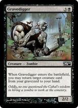 Magic The Gathering-Magic 2010-Gravedigger - $0.15