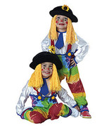 Infant Unisex Colorful Clown Halloween Costume 1-2 Years - $23.00