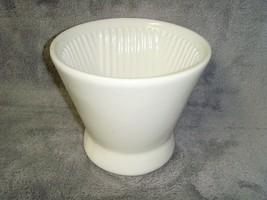 Vintage•White•Ceramic•Coffee•PourOver•Funnel•Excellent Working Preowned ... - $19.99