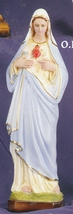 Immaculate heart of mary  12 inch statue thumb200