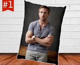 "Ryan Gosling Custom Pillow Case Cover One Sided 30"" x 20"" - $16.90"