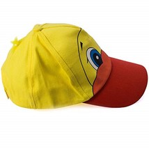 Yellow Ducky Duck Baseball Cap Adjustable Cotton - Adult One Size- W/ Fe... - $9.69