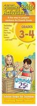 Summer Bridge Activities Grades 3-4 Activity Card Set 2 Decks Flash Cards - $8.90