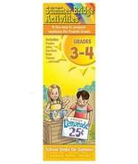 Summer Bridge Activities Grades 3-4 Activity Ca... - $8.90