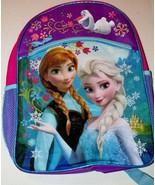 Disney Frozen Elsa & Anna Olaf Backpack Mesh Pockets 2 Compartment NEW - $18.99