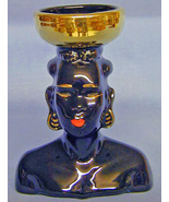 African American Vase / Candle Holder - Unusual - $15.00