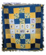 **NEW**Customized Memory Montage Sofa Size Quilt* - $150.00