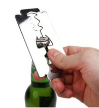 Bottle Opener Bar Men Women Gifts Tool Funky Design Retro Razor Kitchen ... - $23.00