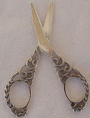 Cute scissors miniature