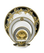 Versace by Rosenthal Set of 5 piece Dinnerware Set  Prestige Gala for 1 ... - $696.10