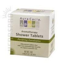 Shower Tablets, Eucalyptus, 3 Tablets by Aura Cacia - $5.05