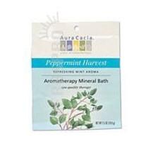 Mineral Bath, Peppermint Harvest 2.5 oz by Aura Cacia - $2.28
