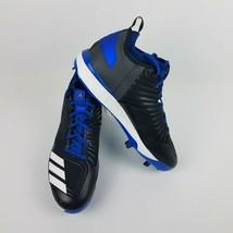 adidas Men Boost Icon 3 Metal Baseball Cleats B39162 Royal Black Size 11.5 - $39.95