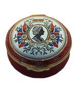 Crummles Enamels Queen Elizabeth II 40th Anniversary of Coronation (Red) LE - $125.00
