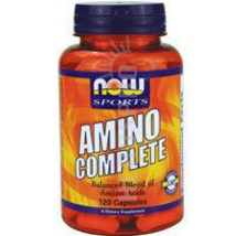 Amino Complete, 120 Caps by Now Foods - $7.79