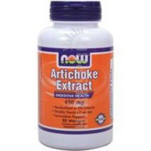 Artichoke Extract, 450 mg, 90 Vcaps by Now Foods - $9.25