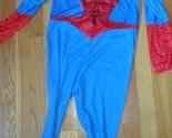 boys spiderman costume size medium 10 11 12 in excellent used condition EUC